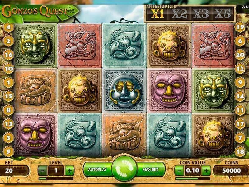 Gonzo's Quest slot oyuna
