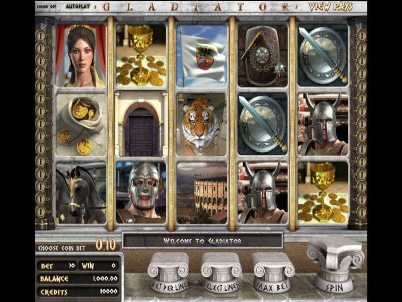 Gladiator Bedava Slot Oyna