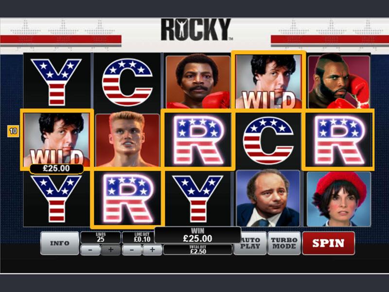 Rocky Bedava Slot Oyna