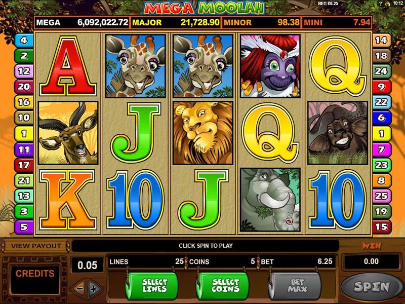 Mega Moolah Slot Makinesi İncelemesi